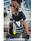 WOMEN TENNIS BAG GEOMETRIC TENNIS BAGS CE IDAWEN - Woman and