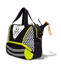 WOMEN PADEL BAG GEOMETRIC WHITE PADDLE BAGS CE IDAWEN - Woman