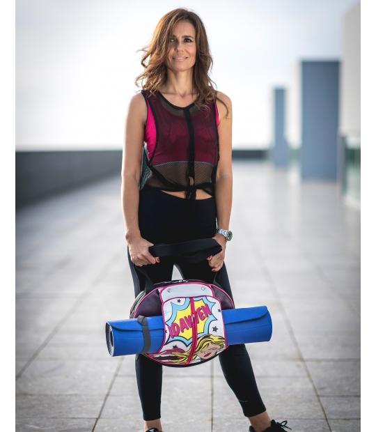 YOGA TOTE BAG STYLE POP ART YOGA BAGS - Moda Athleisure