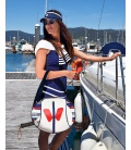 POP TENNIS BAG NAVY PADDLE BAGS CE IDAWEN - Woman and Fashion