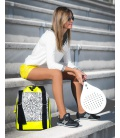 TENNIS BACKPACK MANDALA PRINT PADDLE BAGS - Moda Athleisure