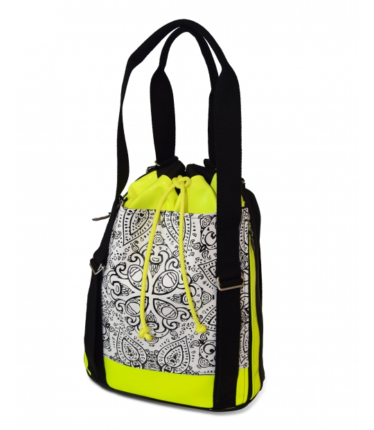 SPORTS BAG MANDALA PRINT GYM BAGS CE IDAWEN - Woman and Fashion