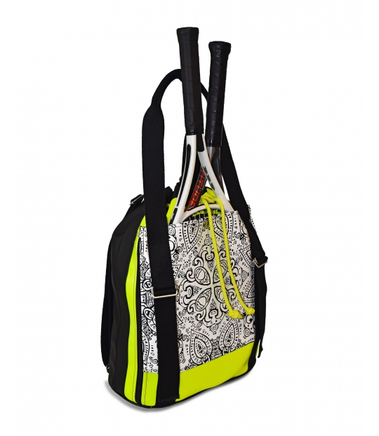 TENNIS BACKPACK MANDALA PRINT