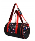 SPORT DUFFLE BAG FLORAL PRINT GYM BAGS CE IDAWEN - Woman and