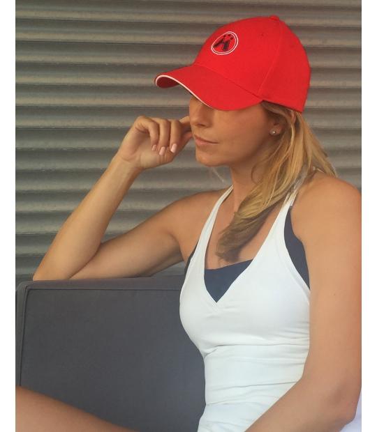 IDAWEN - GORRA AWEN RED - GORRAS - Deporte y Moda Athleisure -