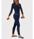 SPORTS TOP SEAMLESS NAVY SPORTS BRAS AND TOPS CE IDAWEN - Woman