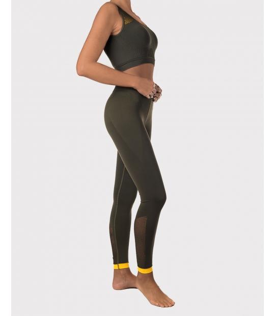 LEGGING SEAMLESS CAZA - LEGGINGS - IDAWEN fashion Athleisure