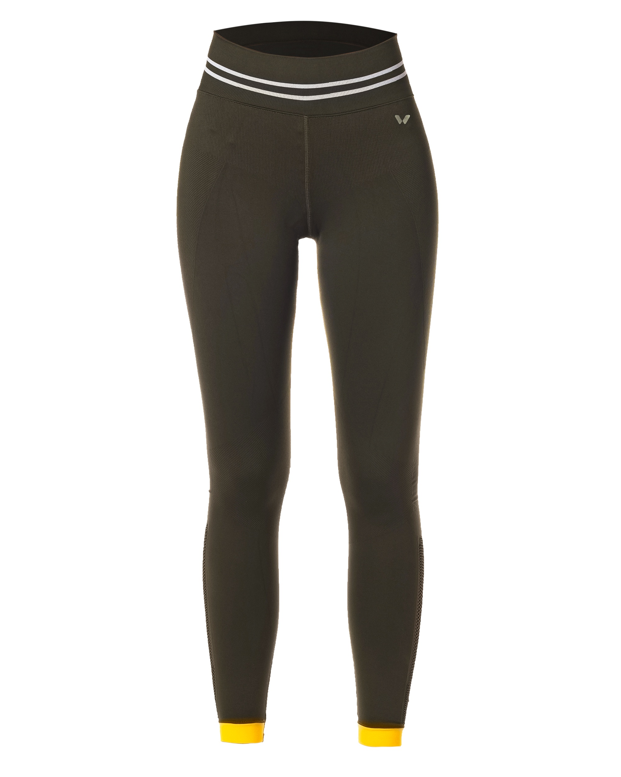LEGGINGS SEAMLESS GREEN LEGGINGS CE IDAWEN - Woman and Fashion
