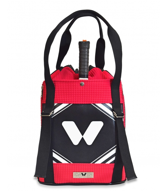 WOMEN PADEL BACKPACK PINK IDAWEN PADDLE BAGS CE IDAWEN - Woman