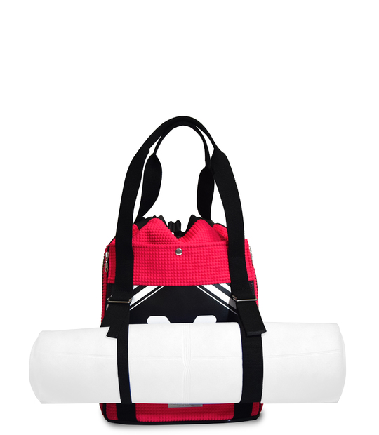 YOGA BACKPACK PINK SCUBA