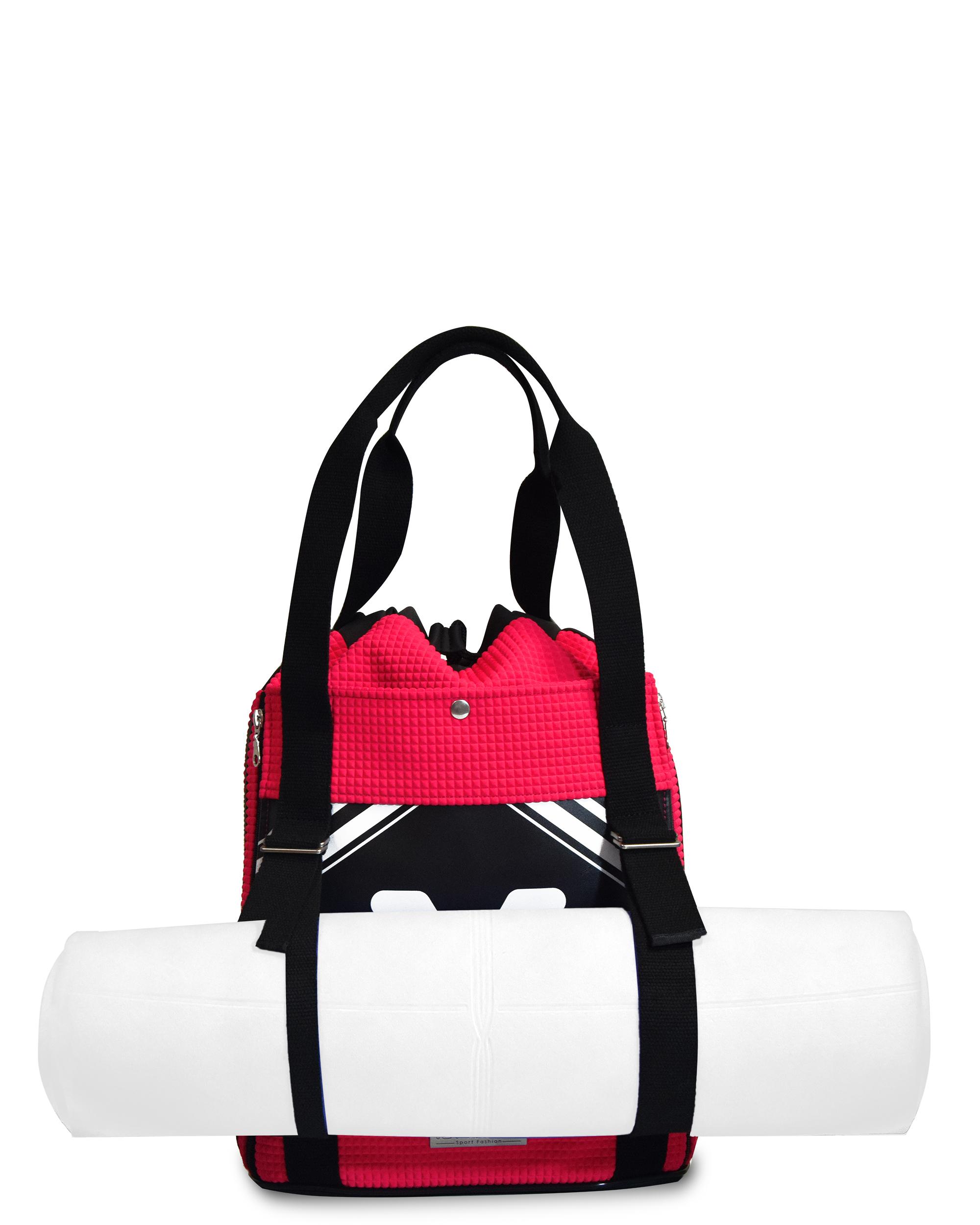 Yoga Backpack Pink Scuba