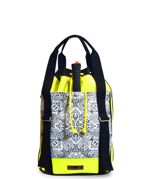 PADEL BACKPACK MANDALA PRINT PADDLE BAGS CE IDAWEN - Woman and