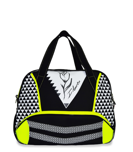 SPORT BAG GEOTULIP WHITE GYM BAGS - Moda Athleisure