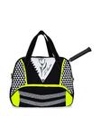 WOMEN TENNIS BAG GEOMETRIC - TENNIS BAGS - IDAWEN fashion