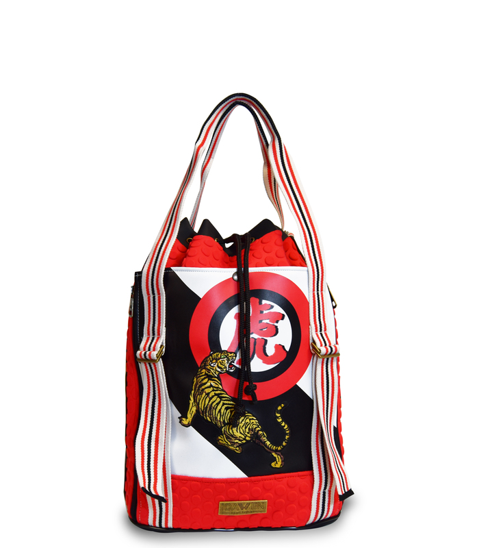 WOMEN SPORT BAG EMBROIDERY