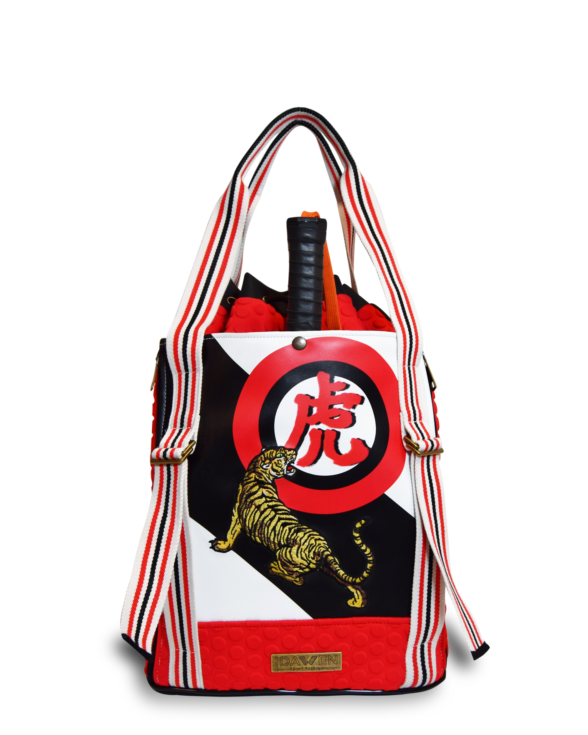 EMBROIDERED PADEL BACKPACK PADDLE BAGS CE IDAWEN - Woman and