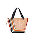 TENNIS TOTE BAG ORANGE TENNIS BAGS CE IDAWEN - Woman and Fashion