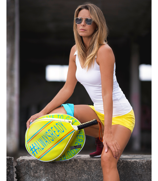 PADEL BAG LIME PADDLE BAGS CE IDAWEN - Woman and Fashion