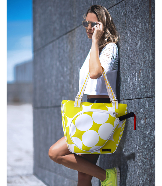 TOTE PADEL YELLOW BAG PADDLE BAGS CE IDAWEN - Woman and Fashion