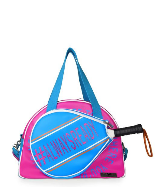 WOMEN PADEL BAG PINK PADDLE BAGS CE IDAWEN - Woman and Fashion