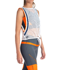 SPORT MESH TOP WHITE SPORTWEAR CE IDAWEN - Woman and Fashion