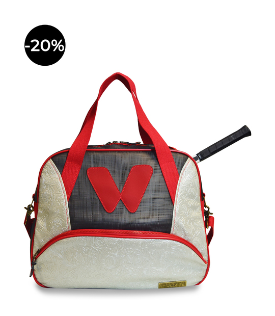 WOMEN TOTE TENNIS BAG VINTAGE