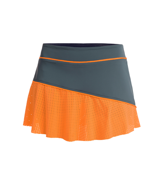 WOMAN TENNIS SKIRT AWEN GREY