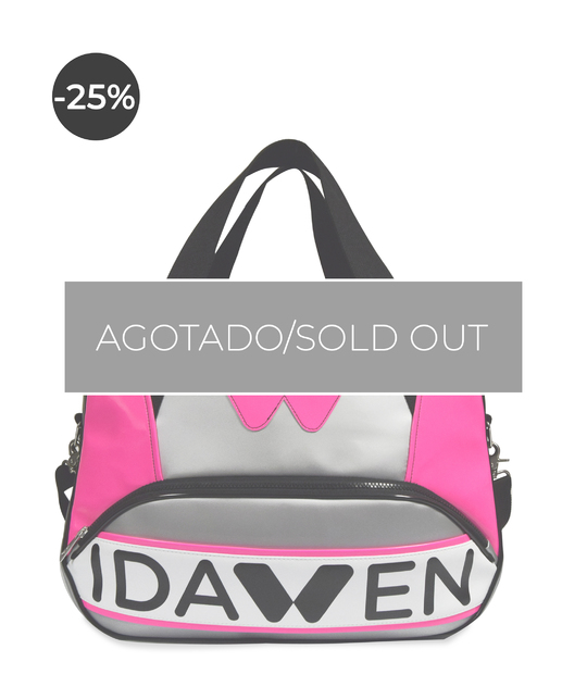 WOMEN TOTE SPORTS BAG NEON PINK