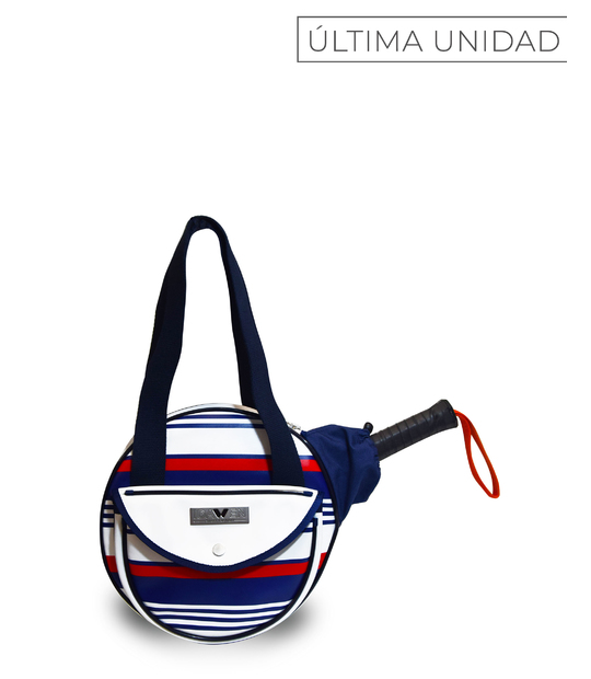 PADEL TENNIS BAG IDAWEN PREPPY NAVY