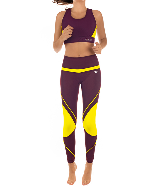 SPORT LEGGINGS FOR WOMAN BURDEOS