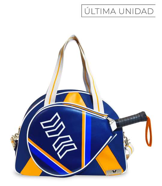 PADEL BAG ORANGE AND BLUE PADDLE BAGS CE IDAWEN - Woman and