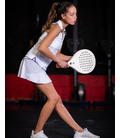 TENNIS SKIRT FOR WOMAN, WHITE