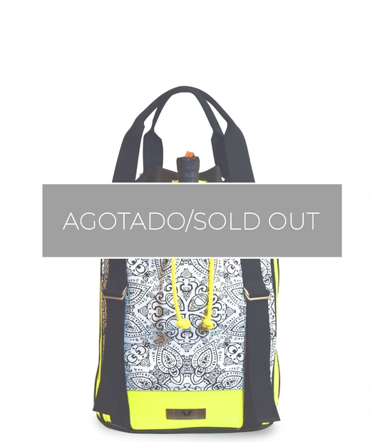 PADEL BACKPACK MANDALA PRINT
