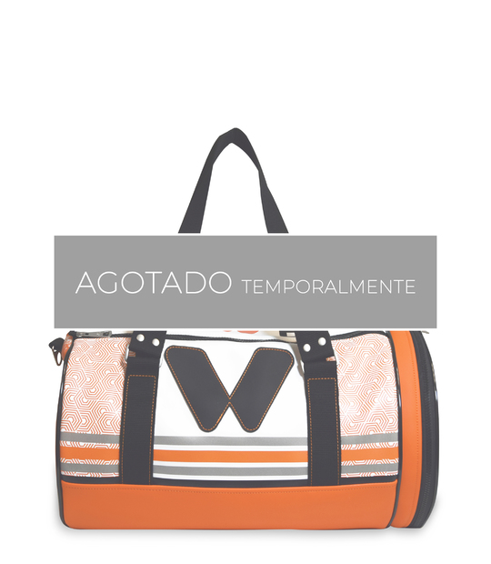 DUFFLE SPORT BAG ORANGE