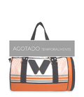 DUFFLE SPORT BAG ORANGE GYM BAGS CE IDAWEN - Woman and Fashion