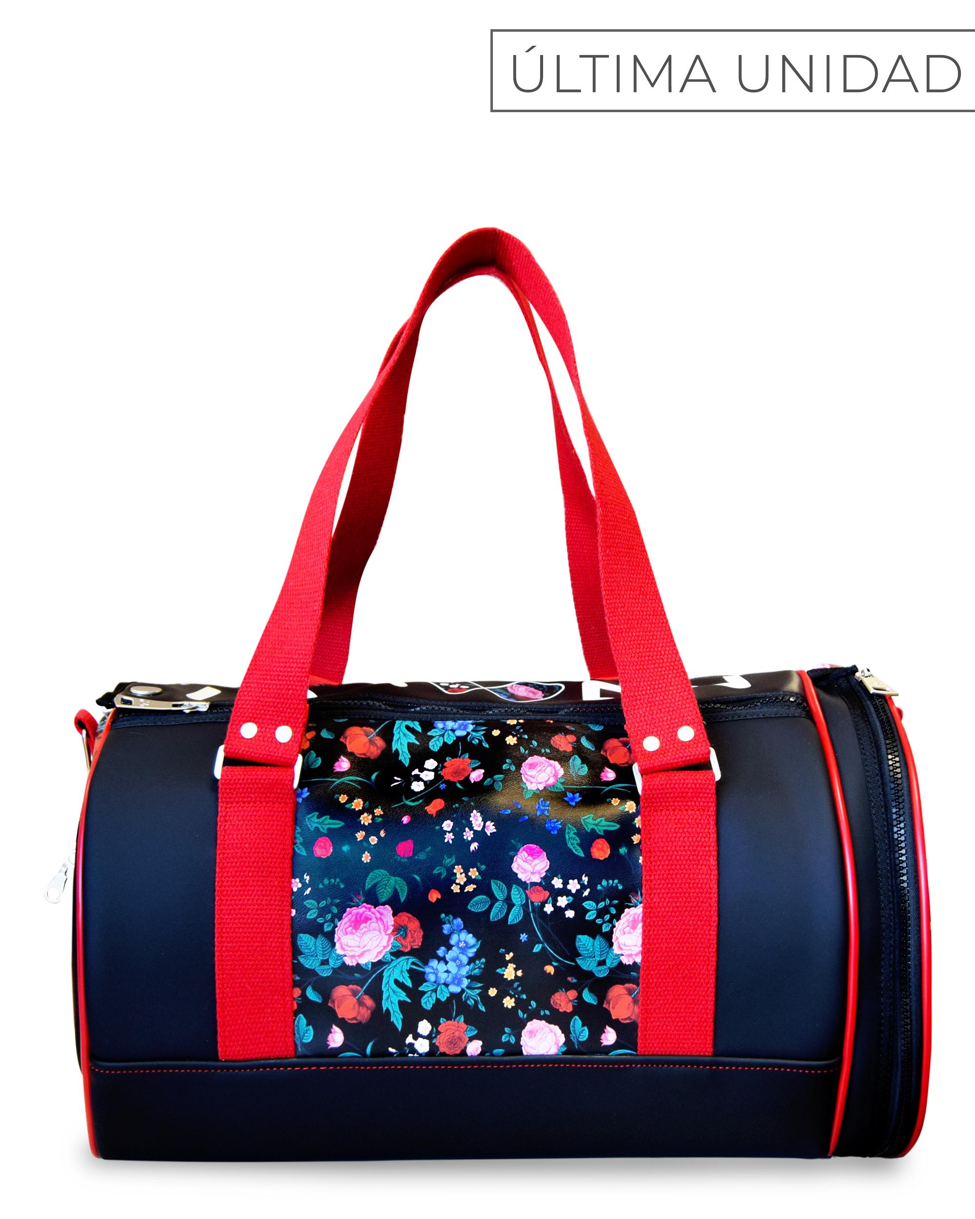 SPORT DUFFLE BAG FLORAL PRINT GYM BAGS CE IDAWEN - Woman and