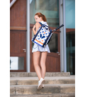 WOMEN TENNIS BACKPACK IDAWEN HOUNDSTOOTH PRINT