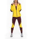 Chaqueta deportiva mujer AWEN amarilla