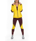Sporty Jacket for woman AWEN yellow