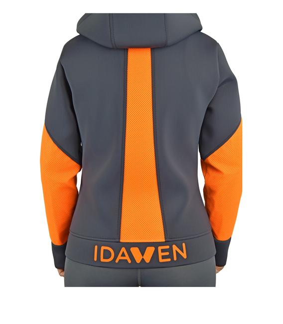 Neoprene jacket model AWEN grey