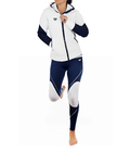Neoprene jacket model AWEN white