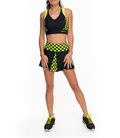 RUNNING BRA NEON BLACK