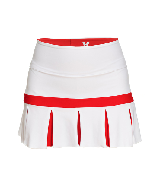 TENNIS SKIRT WHITE JAPAN COLLECTION