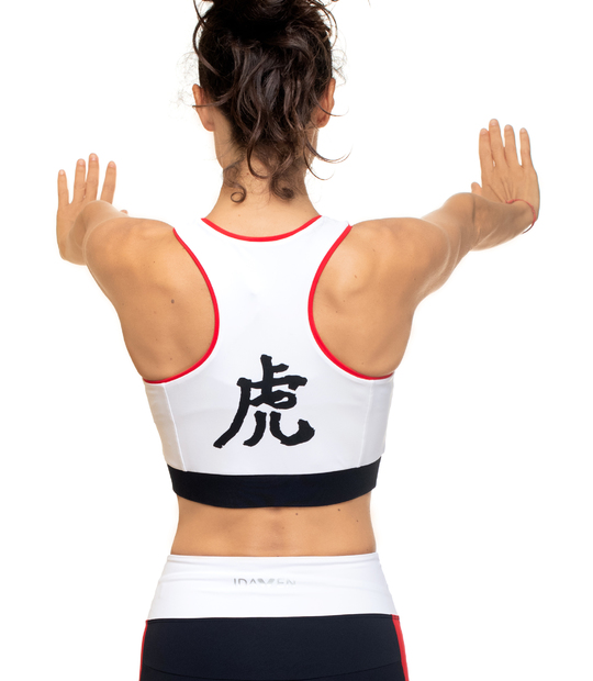 SPORT BRA WHITE IDAWEN JAPAN