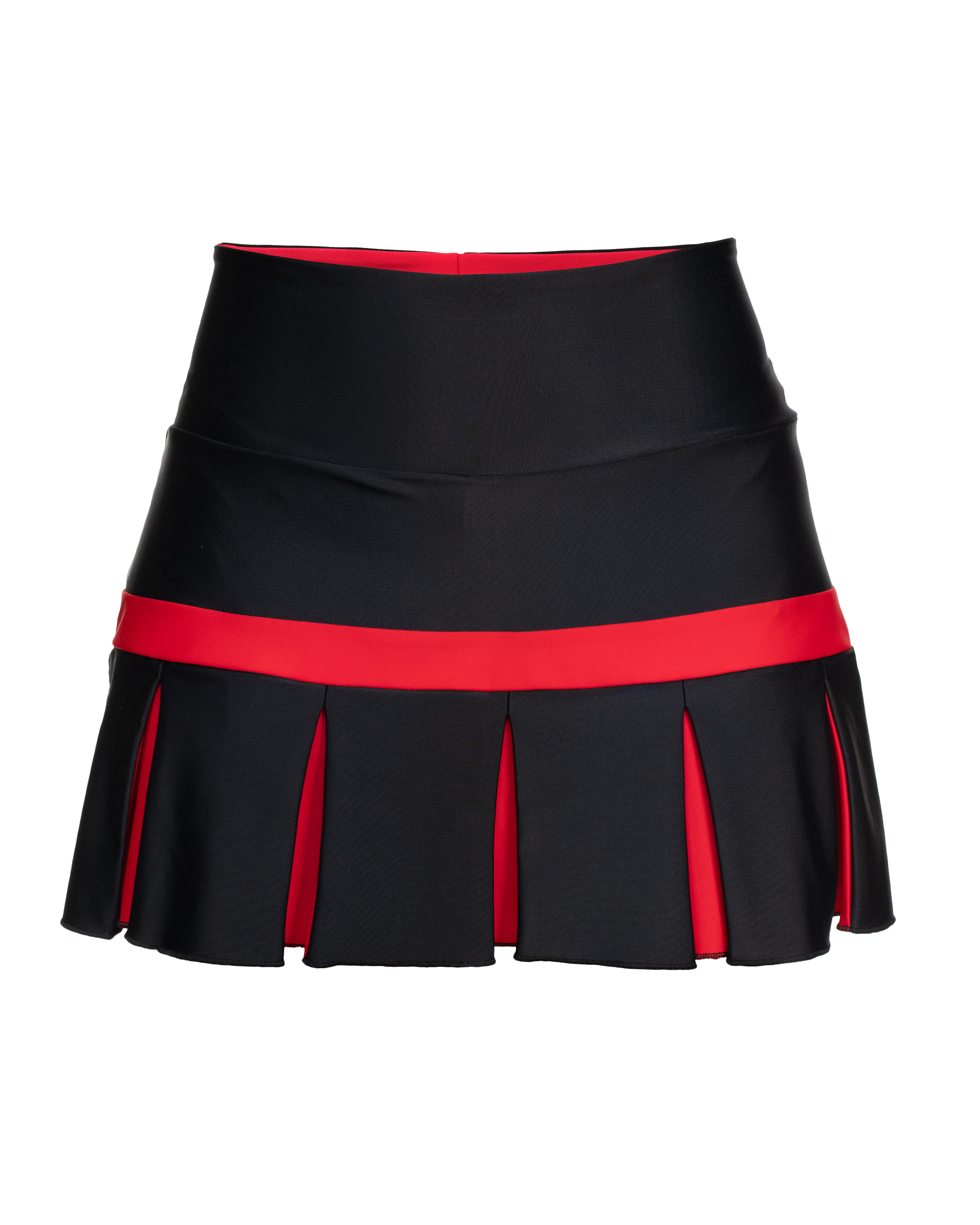 TENNIS SKIRT BLACK JAPAN COLLECTION