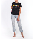 WOMEN'S BLACK SHORT SLEEVE T-SHIRT