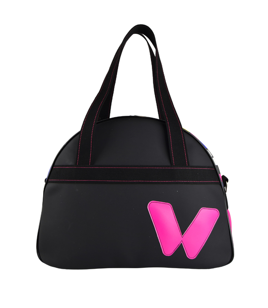 WOMEN TENNIS BAG PINK AND BLACK