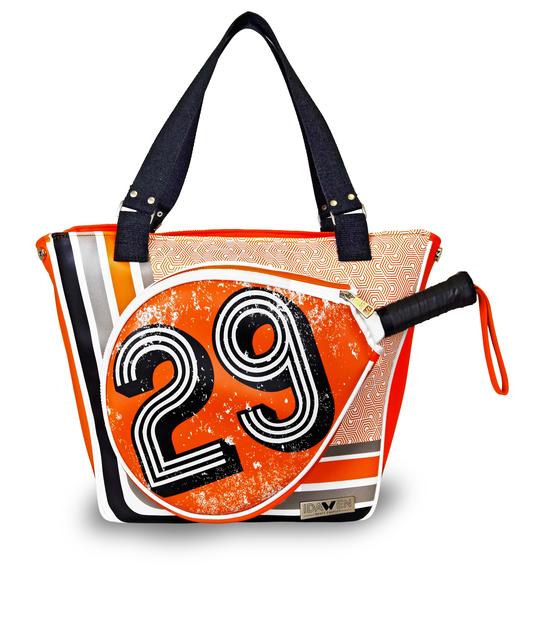 TOTE PADEL ORANGE BAG PADDLE BAGS CE IDAWEN - Woman and Fashion