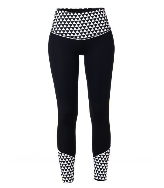 WOMEN LEGGINGS BLACK AND WHITE LEGGINGS CE IDAWEN - Woman and