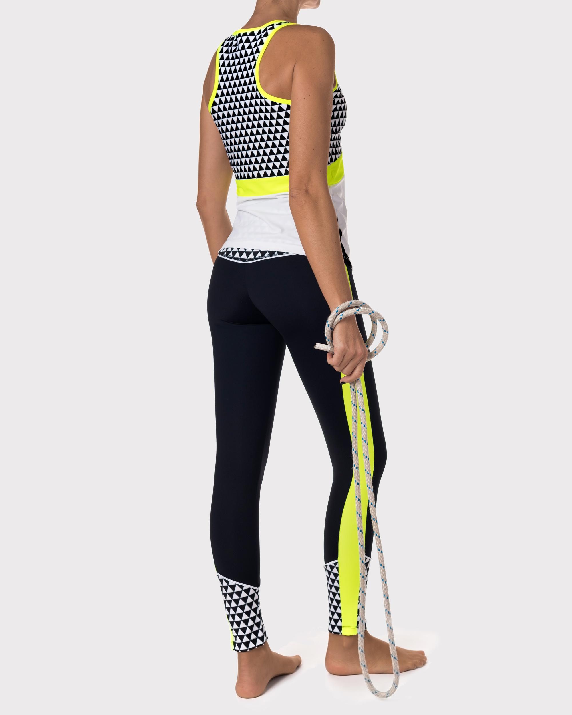 Camiseta Deportiva de m/áxima Calidad t/écnica protecci/ón UV Secado r/ápido Top de Deporte sin Mangas IDAWEN para Mujer